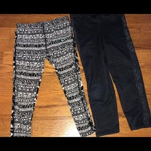 Little girls pants Nike and Jeggings